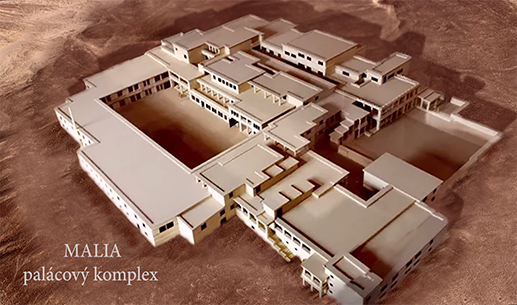 Malia minojská - doba bronzová