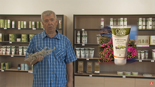 O bylinkách v kosmetice OLIVE  (film 00:05:05)