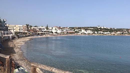 Hessonissos - procházka přístavem