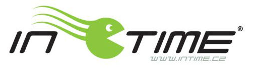 In time logo